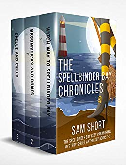 The Spellbinder Bay Chronicles: The Spellbinder Bay Cozy Paranormal Mystery Series Anthology Books 1-3