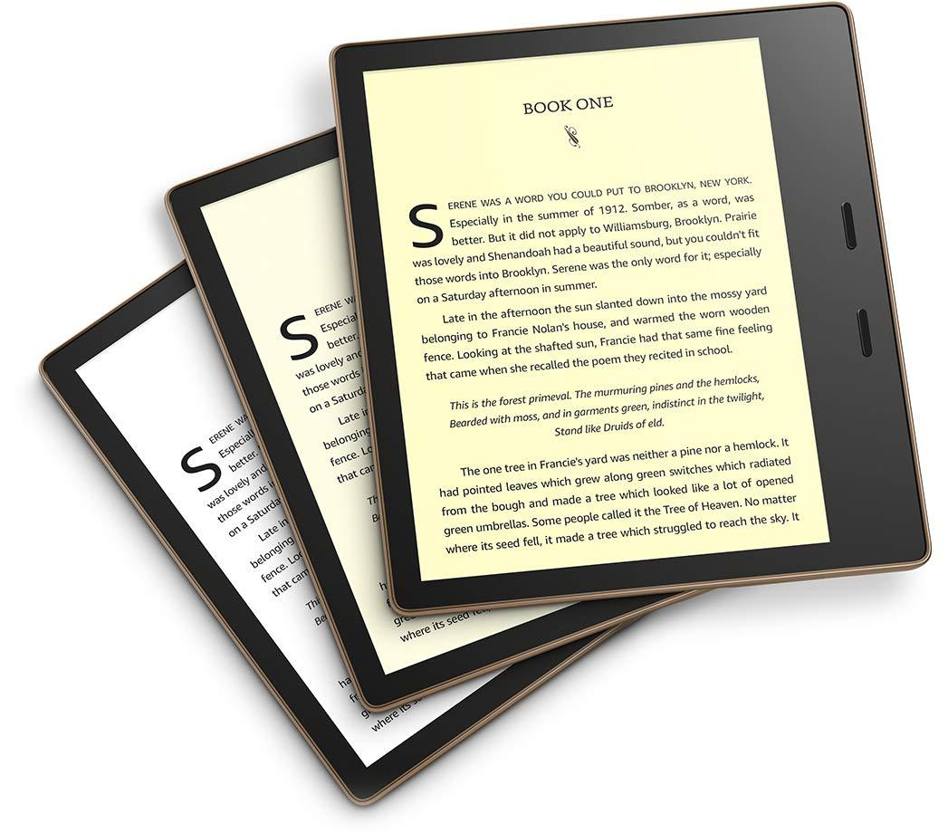 2019 Kindle Oasis Warm Light Review