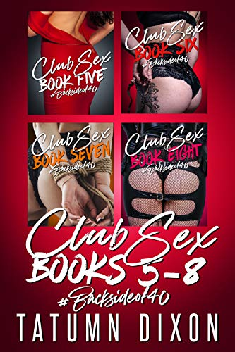 Club Sex: Books Five-Six-Seven-Eight