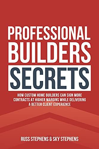 Free: Professional Builders Secrets